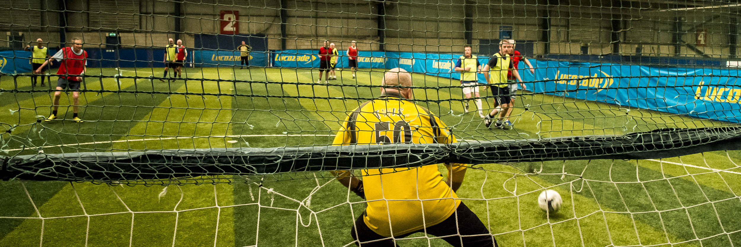 walking football in England