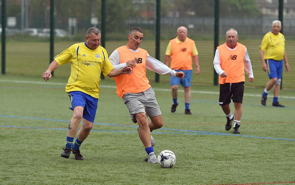 Playing-walking-football