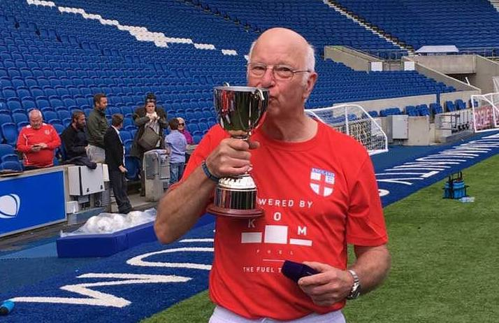 Tom Charlton Walking football